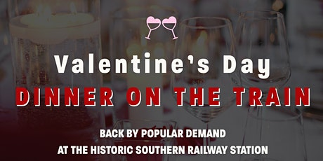 Valentine's Day Train Car Dinner tickets