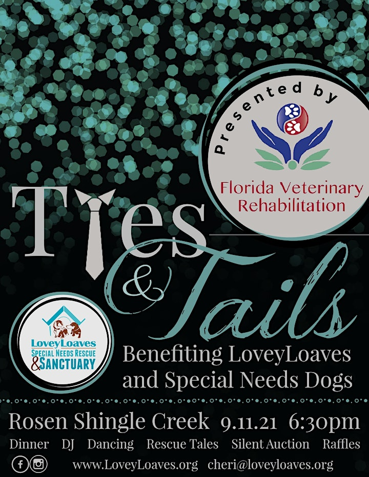 Ties & Tails 2021 - A Fundraising Event Benefiting Special Needs Dogs image