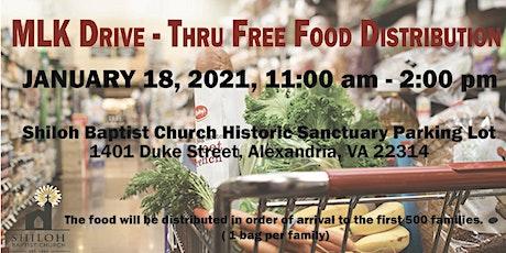 Free Food Distribution tickets