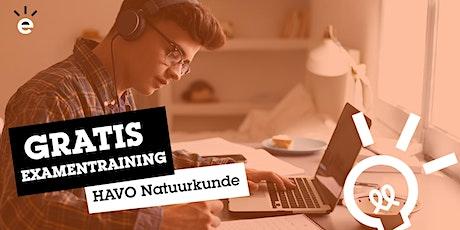 Gratis Online Examentraining Natuurkunde (HAVO) tickets