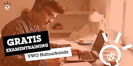 Gratis Online Examentraining Natuurkunde (VWO) tickets