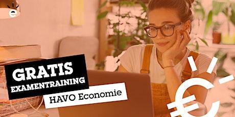 Gratis Online Examentraining Economie (HAVO) tickets