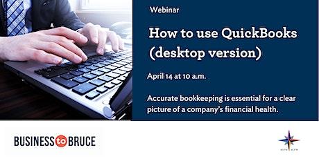 How to use QuickBooks - Desktop version tickets