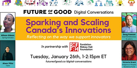 Sparking and Scaling Canada's Innovations tickets