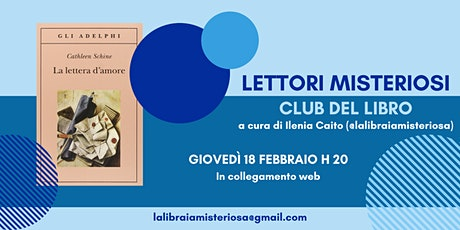 Club del Libro dei Lettori Misteriosi - Indipendenti Febbraio 2021 biglietti