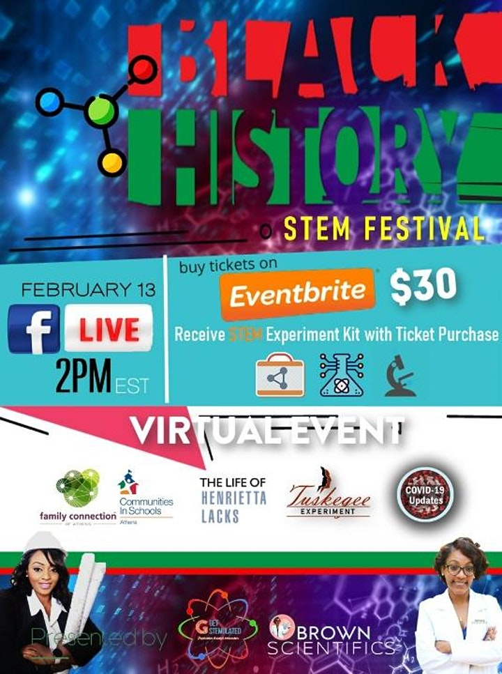 Black History STEM Festival image