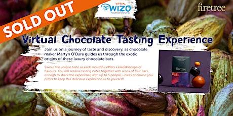VIRTUAL WIZO FOOD &  DRINK SERIES: Chocolate Tasting Experience tickets