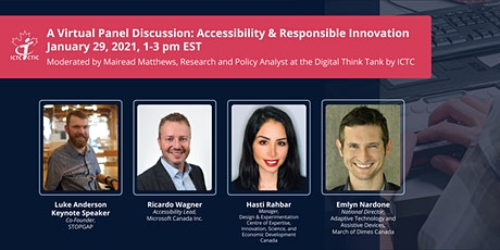 A  Virtual Panel Discussion: Accessibility & Responsible Innovation tickets