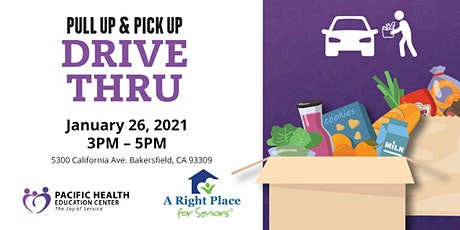 Food Giveaway- Pull Up, Pick Up Drive Thru tickets