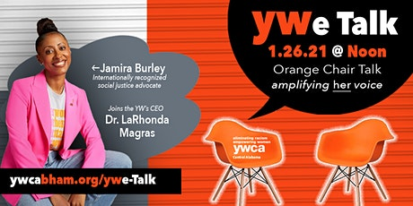 YWe Talk: Orange Chair Talk Series tickets