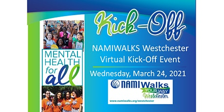 NAMIWalks Westchester 2021 Virtual Kick-Off Event tickets