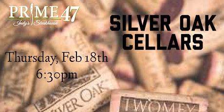 Silver Oak Cellars - Wine Dinner tickets