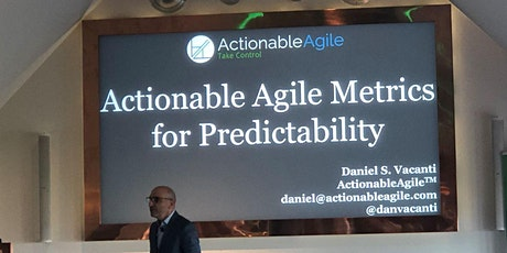 Advanced Agile Metrics, Forecasting, and Predictability Workshop tickets