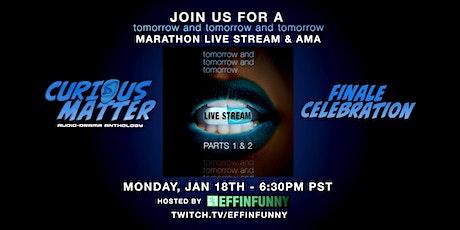 Curious Matter Anthology - Season Finale Celebration Livestream tickets