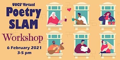 Online Poetry Slam Workshop tickets