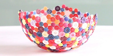 Balloon Button Bowl Art Kit - Ages 10+ tickets
