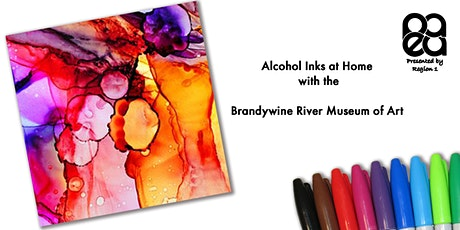 Alcohol Inks at Home with the Brandywine River Museum of Art tickets