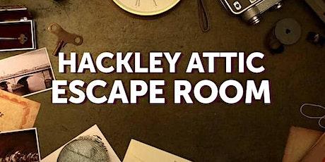 Hackley Attic Escape Room tickets
