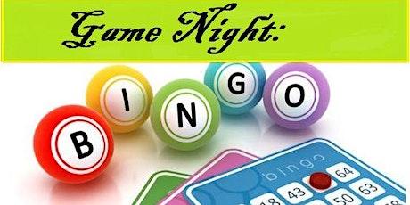 Game Night: Bingo tickets
