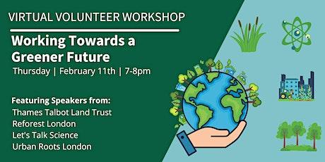 Virtual Volunteer Workshop tickets
