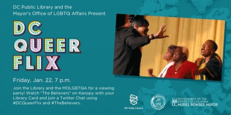 """""""The Believers"""" Watch Party with DC LGBTQ Affairs and DC Public Library tickets"""
