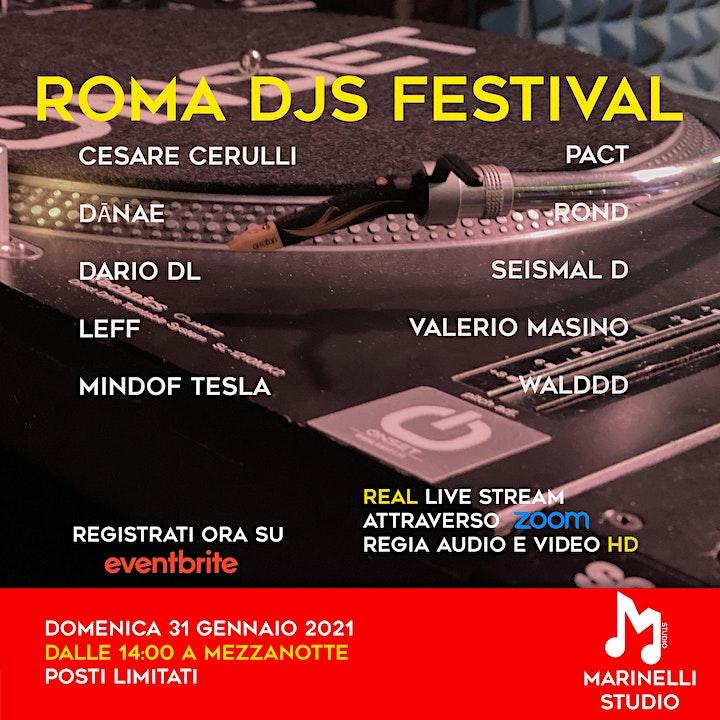 Immagine Roma DJs Festival - 10 ore di Musica - Marinelli Streaming