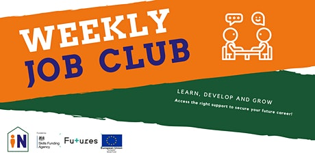 Weekly Job Club tickets