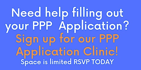 PPP Loan Application Clinic tickets