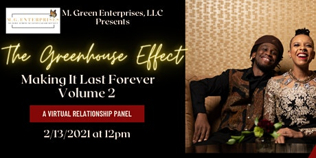 The Green Effect: Making It Last Forever Vol. 2 tickets