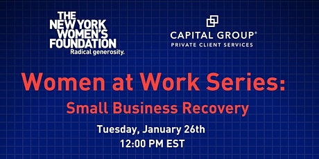 Women at Work Series: Small Business Recovery tickets