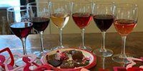 February Chocolate & Wine pairing tickets