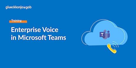 2-tägiges Enterprise Voice Training in Microsoft Teams via Teams Meeting tickets