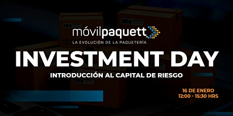 Móvilpaquett Investment Day; Una introducción al capital de riesgo boletos