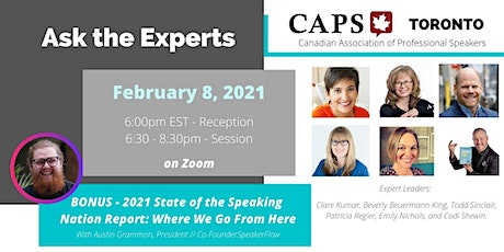 CAPS Toronto - Ask the Experts tickets