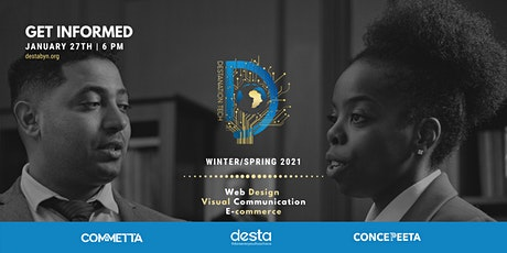DestaNation Tech Program Information Session - Winter/Spring 2021 tickets