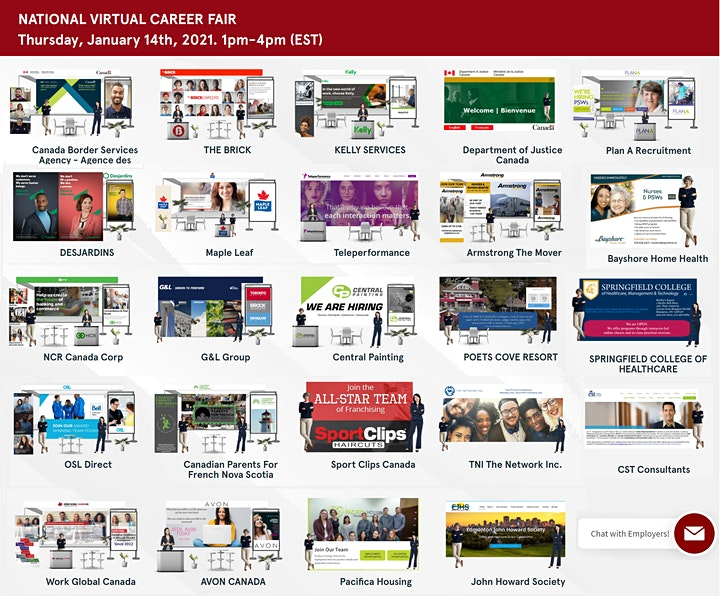 NATIONAL VIRTUAL CAREER FAIR - APRIL 8th, 2021 image