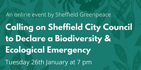 Biodiversity & Ecological Emergency Speaker Event tickets