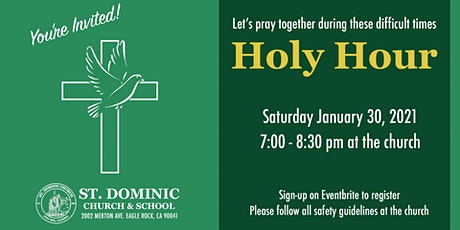 Holy Hour at Saint Dominic Church tickets