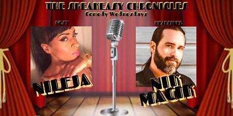 Speakeasy Chronicles Comedy Show with Headliner Nik Macik tickets