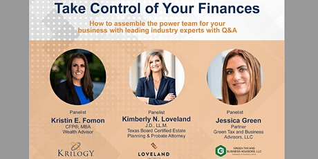 Take Control of Your Finances tickets