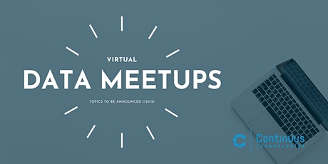 Data Meetup (February) - Topic TBD tickets