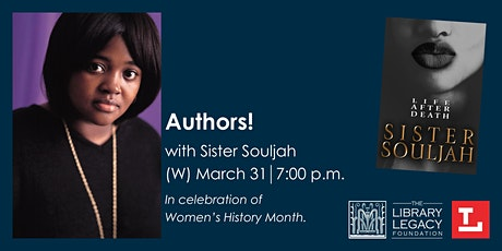 Authors! with Sister Souljah tickets