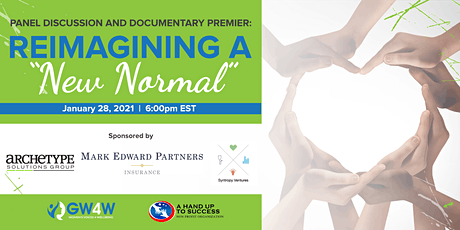 "Reimagining a ""New Normal"" - Panel Discussion and Documentary Premiere tickets"