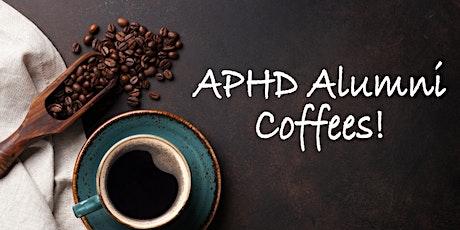 APHD Alumni Coffees - Jan 22 tickets