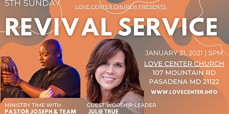 5th Sunday Revival Service w/ Special Guest: Julie True tickets