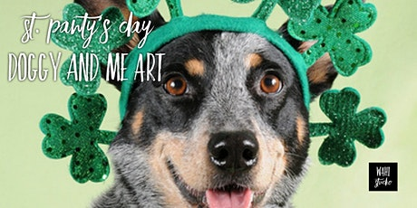 St. Pawty's Day Doggy and Me Art tickets