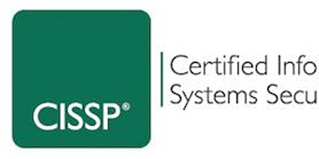 ISC2 Certified Information Systems Security Professional (CISSP) Training tickets