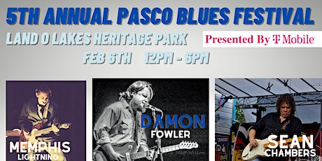 5th Annual Pasco Blues Festival Presented by T-Mobile tickets