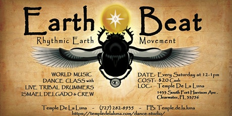 Earth Beat Dance Class and Live Drumming ~ Saturday 12-1:00 Each Week tickets