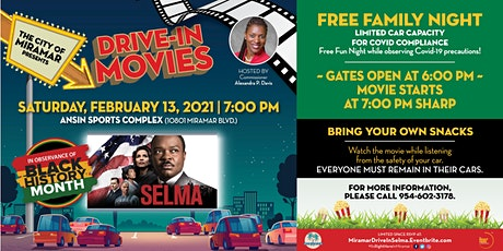 Drive-In Movies in the Park: SELMA tickets